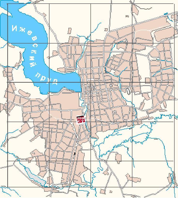 карту города ижевска